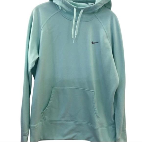 Nike Therma Large Sweatshirt Mint Green Fit Hoodie On0wkXP8